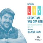 Facebook Live con Christian Van Der Henst de Platzi