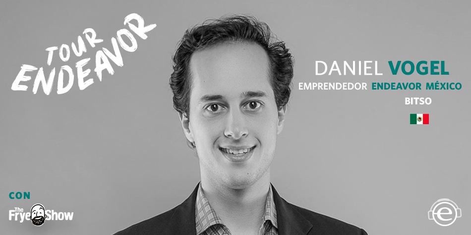 Daniel Vogel, Fundador de Bitso. Criptomonedas. Bitcoins.
