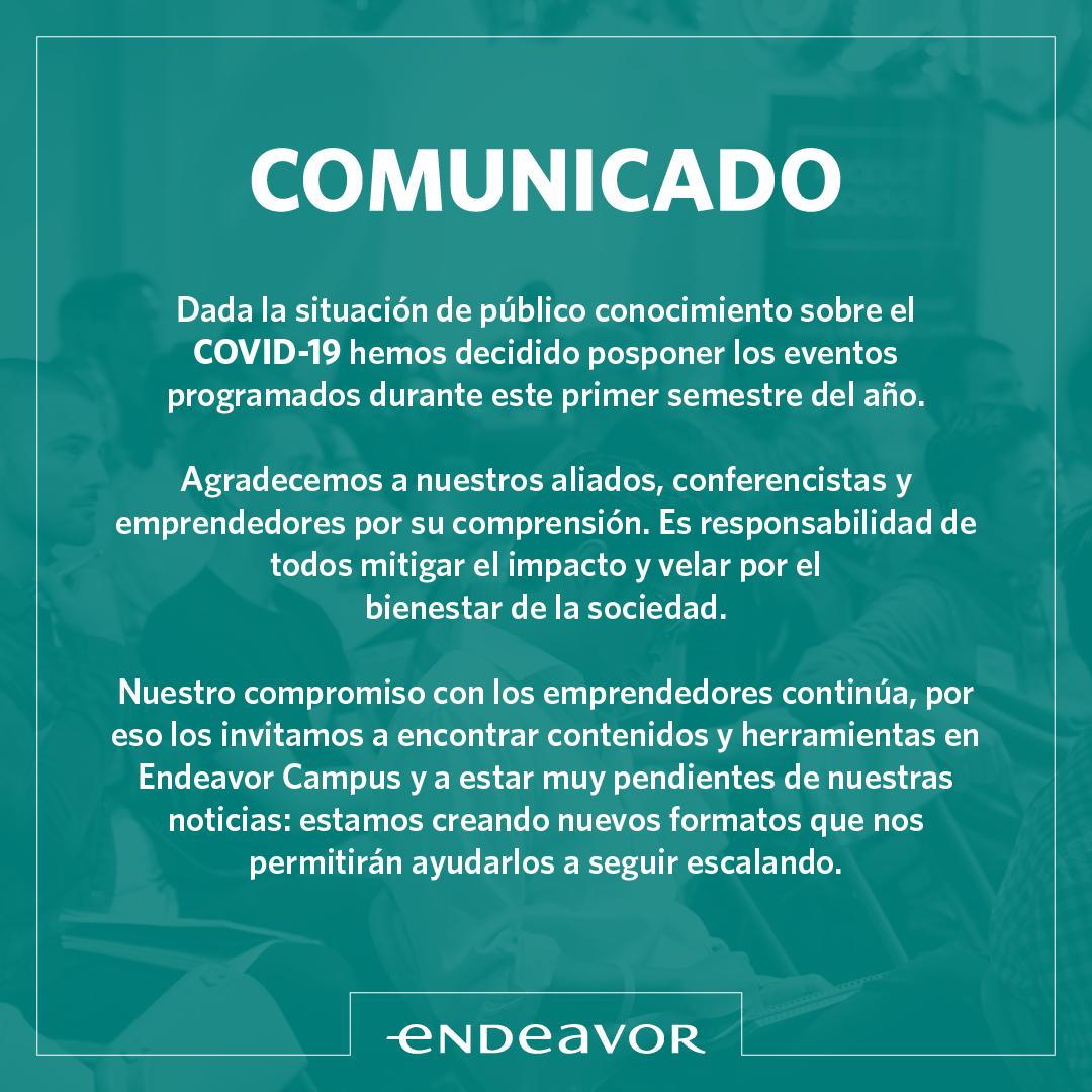 Covid-19 Eventos