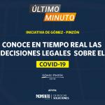 Último Minuto, toda la información legal sobre el COVID-19