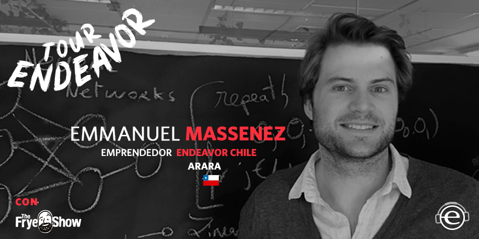 Emmanuel Massenez, cofundador de Arara