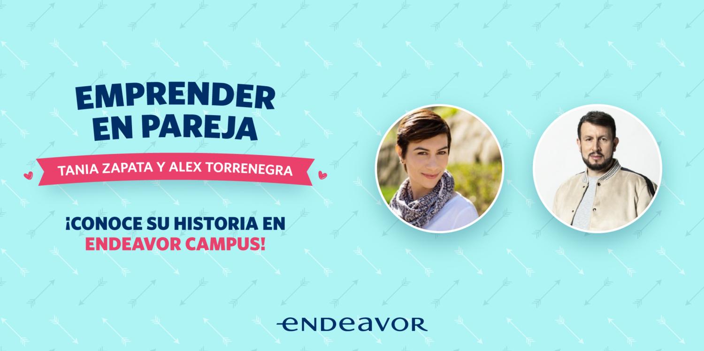 Alex Torrenegra y Tania Zapata