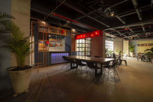 Café-restaurante en Plura Coliving