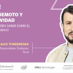 Productividad y trabajo remoto con Alex Torrenegra