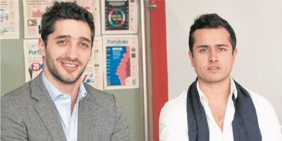 De derecha a izquierda Nicolas Nohra y Juan Carlos Fandiño Bastó