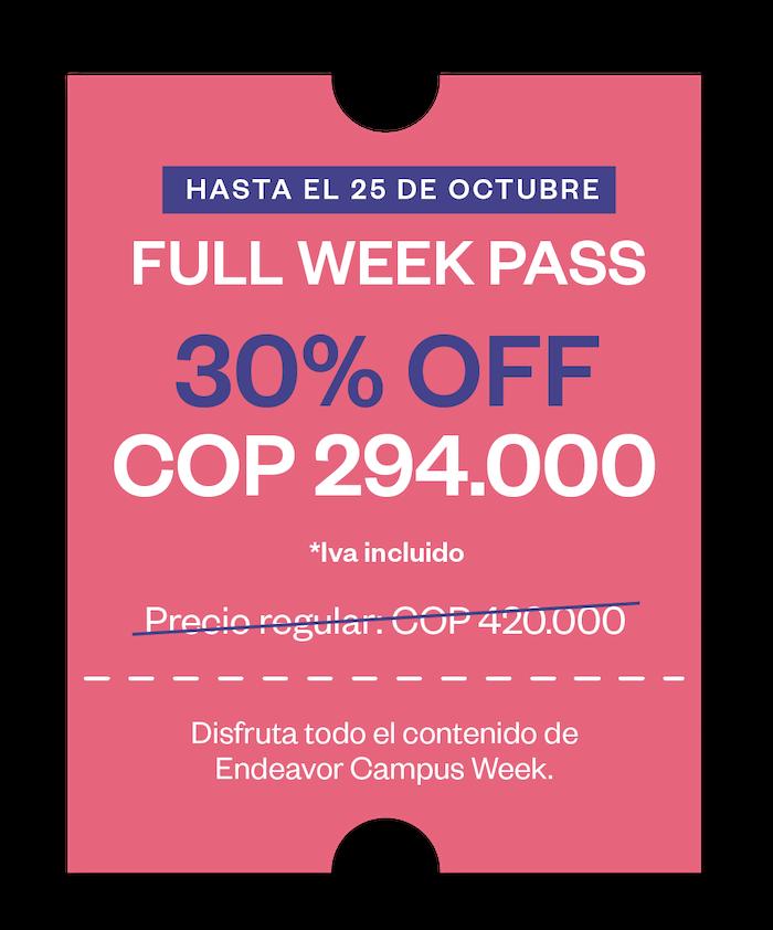 Full Pass Week ECW